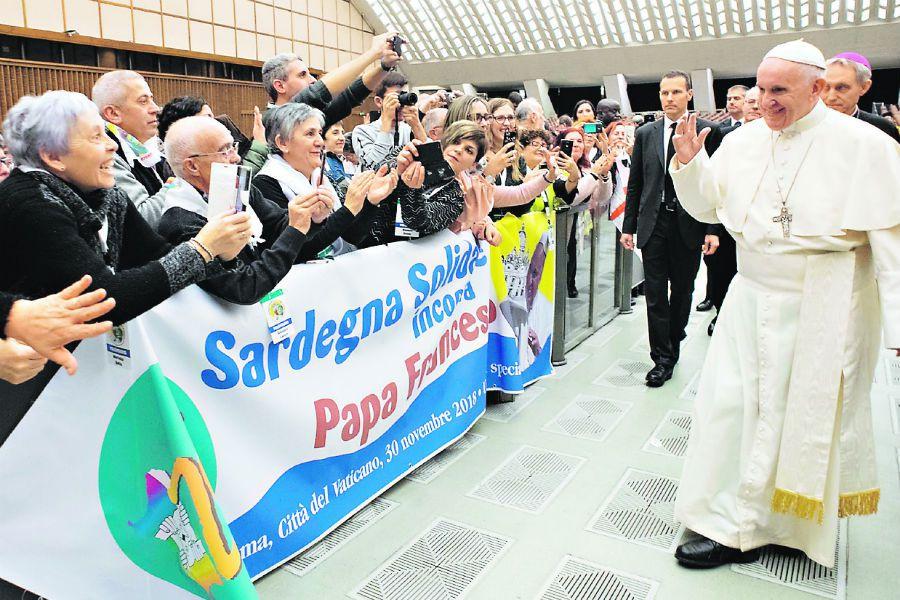 Imagen Audiencia del papa Fra(24345392)