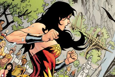 Las tensiones en la isla paraíso marcan el primer vistazo a Wonder Woman: Earth One Vol. 3