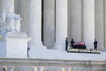 Inician homenajes y funerales para despedir a la jueza Ruth Bader Ginsburg en EE.UU.