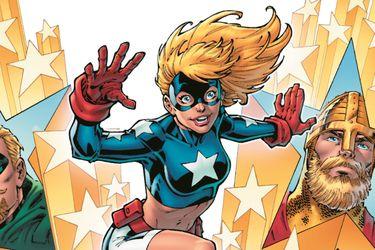 Stargirl presentará a otro integrante de los Siete Soldados de la Victoria en su nuevo cómic