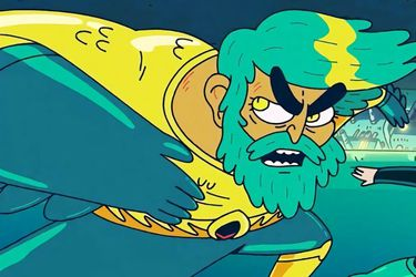 El primer vistazo a King of Atlantis, la nueva miniserie animada de Aquaman