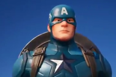 El Capitán América ya llegó a Fortnite