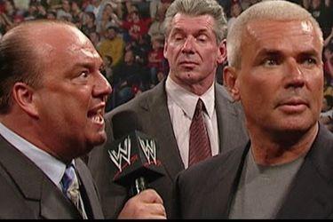 Paul Heyman y Eric Bischoff tomarán control creativo de RAW y Smackdown en la WWE