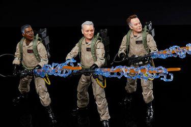 Los Cazafantasmas originales se suman a la nueva generación en estas figuras de Ghostbusters: Afterlife