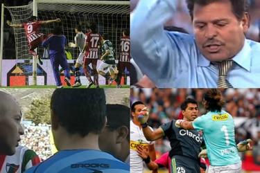 Peleas, combos y diálogos irrepetibles: los mejores cruces del fútbol chileno