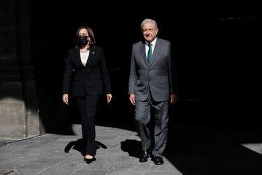 Kamala Harris se reúne con el Presidente de México para discutir sobre la migración irregular