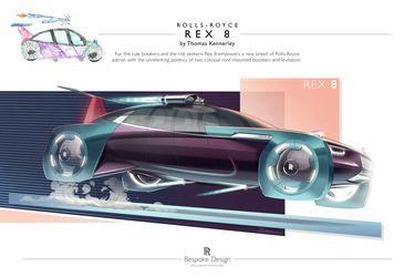 ¿Tienes un hijo artista? Rolls-Royce invita a desarrollar desde la casa el auto del futuro
