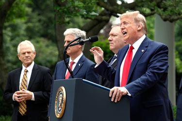 """Trump anuncia que movilizará a """"cientos de militares armados"""" en Washington ante aumento de protestas"""