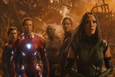 Los Guardianes de la Galaxia originalmente solo tenían un cameo en Infinity War