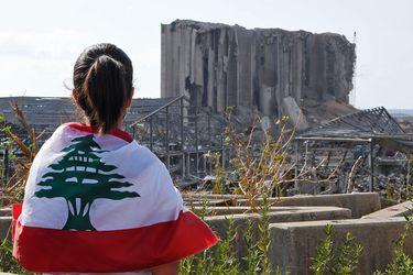 Líbano recuerda a las víctimas de la explosión que sacudió Beirut hace un mes