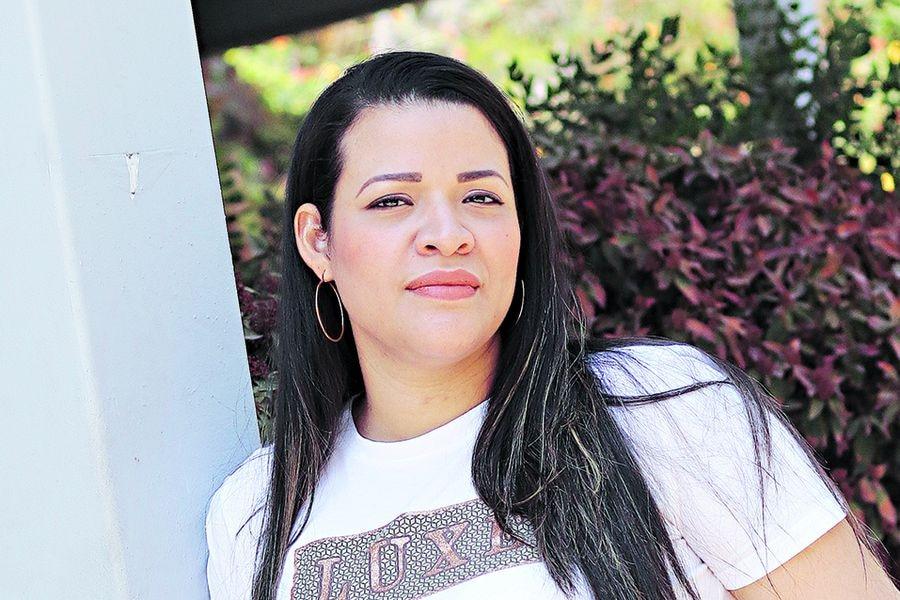 Sofía Bolívar (38), abortó por inviabilidad fetal.