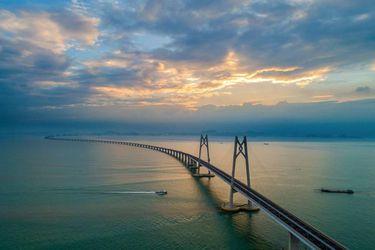 Así es el mega puente chino que se convierte en el túnel submarino más largo del mundo