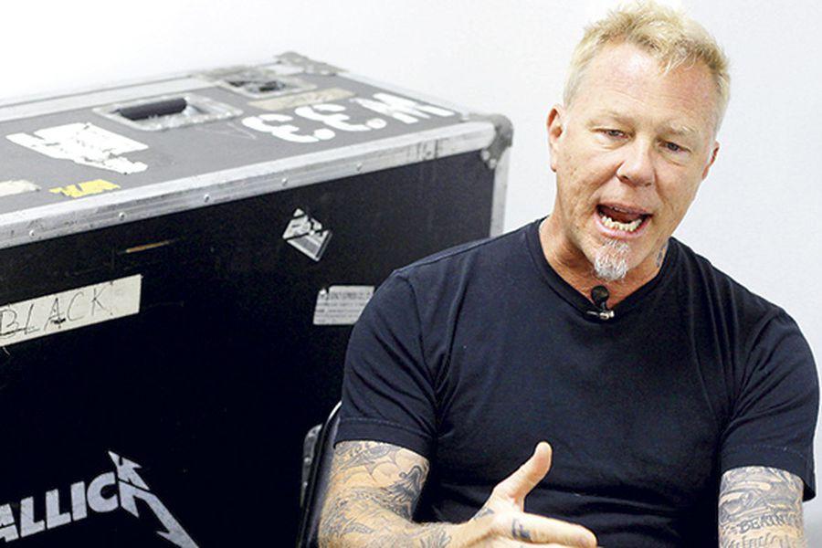 James Hetfield, líder de Metallica