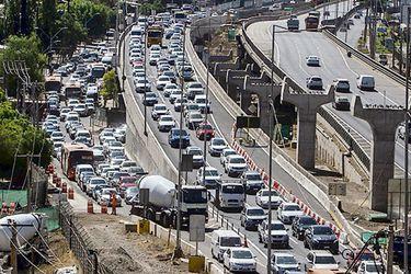Obras en La Pirámide generan alta congestión y reclamos entre los usuarios