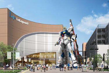 Japón tendrá un nuevo Gundam tamaño real ubicado en Fukuoka