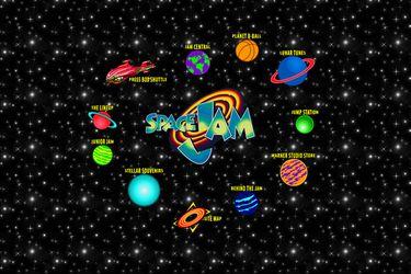 El clásico sitio web de Space Jam sigue vivo pese a la actualización por la nueva película