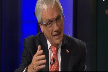 Piñera descarta levantar estado de excepción en el corto plazo ante una eventual segunda ola