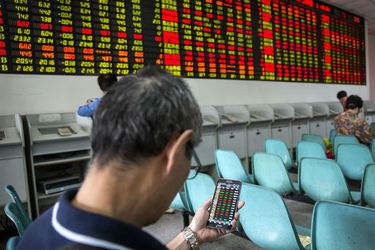 Comerciantes de alta frecuencia celebran en un mercado volátil