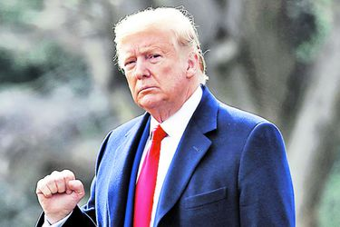 """Trump afirma que si pierde las elecciones los mercados tendrán """"un desplome como nunca antes"""""""