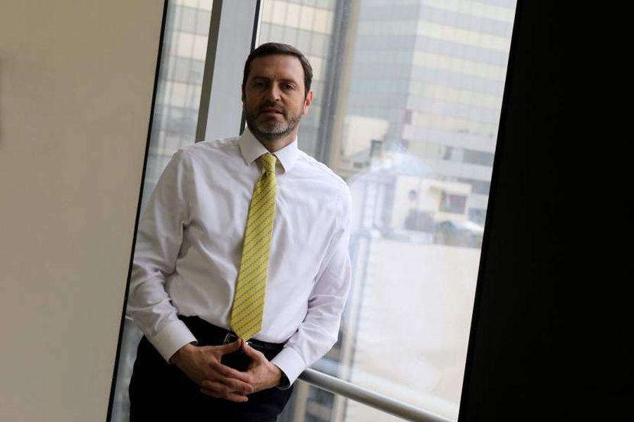 Christopher Bosler, gerente general de la Bolsa de Productos.  Foto: Andrés Pérez