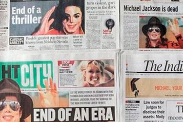 """8 años sin el """"Rey del Pop"""": Así eran las portadas del mundo anunciando la muerte de Michael Jackson"""