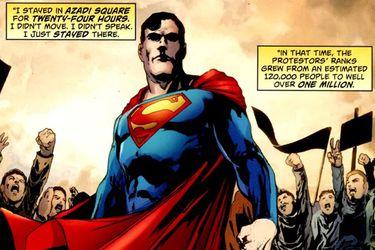 Dibujante de DC Comics advirtió sobre uso de imágenes de Superman en campaña del rechazo
