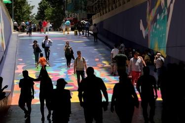 El artista que transformó el Paseo Bandera