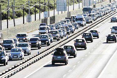 congestión ruta 5 norte