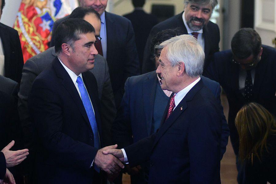Desbordes y Piñera