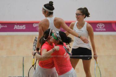 La primera medalla para el Team Chile es de bronce