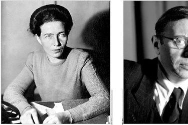 Simone de Beauvoir y Jean-Paul Sartre: la inversión de los términos
