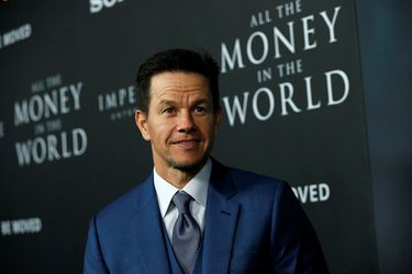"Cast member Wahlberg poses at the premiere for ""All the Money in the World"" in Beverly Hills"