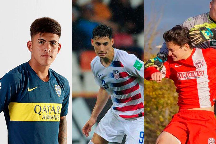 Brandon Cortés, Sebastián Soto, Kennet Hanner-Lopez