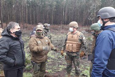 Gobierno condena hechos de violencia en La Araucanía e intendente se traslada hasta Pidima para ver en terreno tren descarrilado