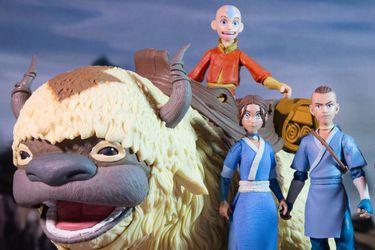 Así lucirán las nuevas figuras de Avatar: The Last Airbender realizadas por McFarlane Toys