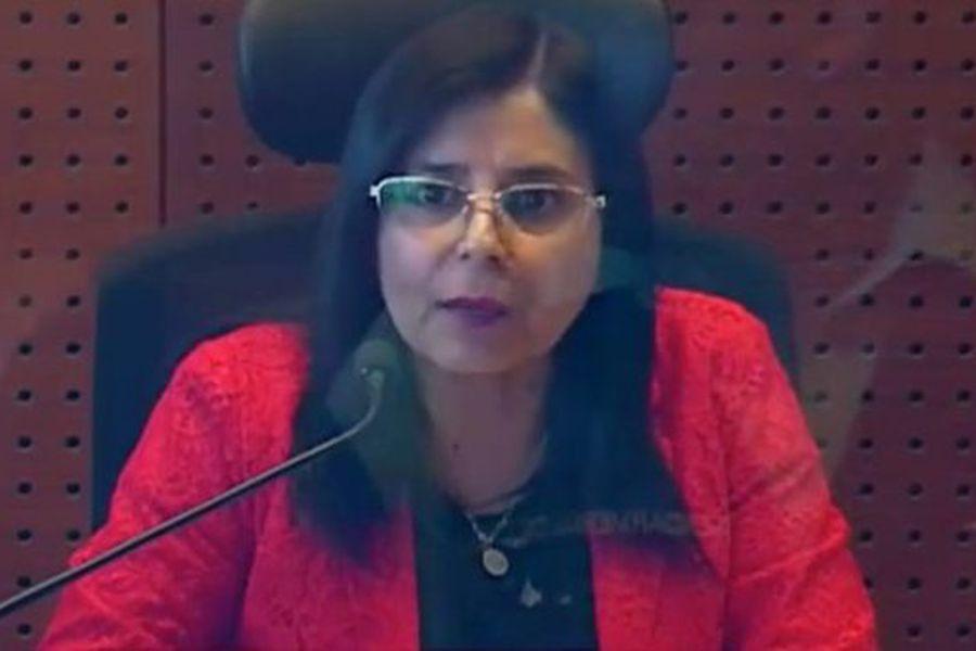 La jueza Andrea Acevedo