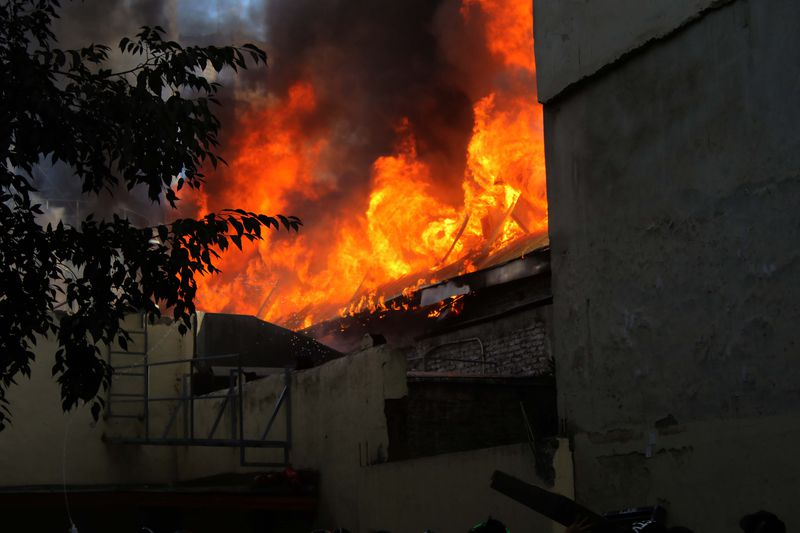 Se incendia Cine Arte Alameda