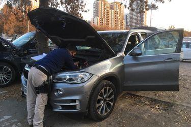 PDI recupera en Lo Espejo vehículos de alta gama con encargo vigente