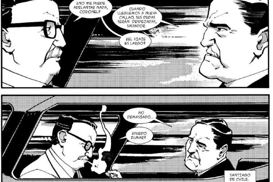 Allende Y Pinochet Unen Fuerzas En Nueva Novela Grafica La Tercera