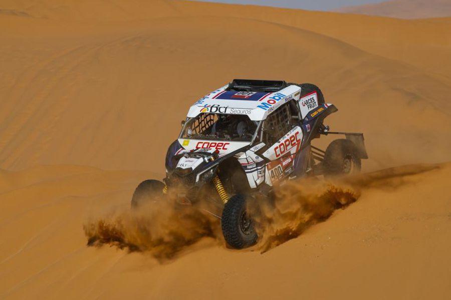 Chaleco López en el desierto