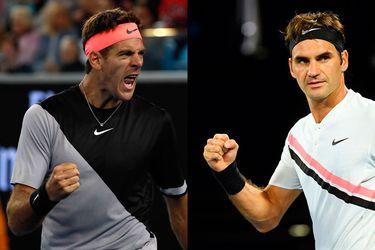 Roger Federer, Juan Martín del Potro