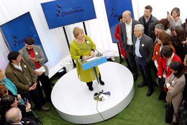 Michelle Bachelet presenta su nueva fundación Horizonte Ciudadano