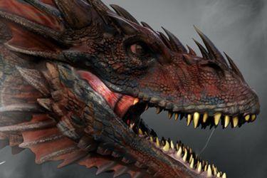 Dos dragones son el foco de los artes conceptuales para la precuela de Game of Thrones
