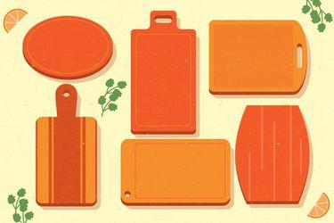 Tablas de cocina, ¿de madera o de plástico?
