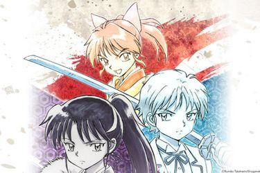 Creadora de Inuyasha dibuja a los personajes del anime spin-off que tendrá la franquicia