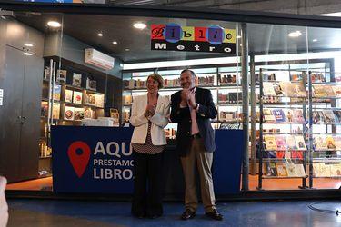 Ministerio de las Culturas inaugura primer Bibliometro fuera de la capital