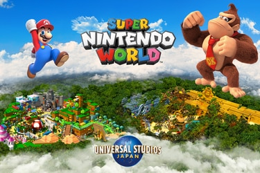 El parque temático Super Nintendo World sumará un área basada en Donkey Kong