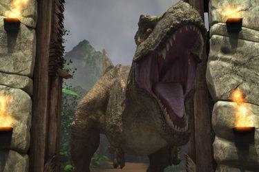 La serie animada de Jurassic World presentó su primer avance