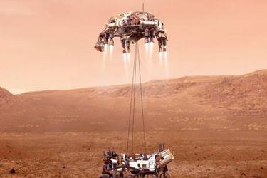 Perseverance, el robot explorador de la NASA desciende en Marte con la gran misión de averiguar si existió (o existe) vida en el planeta rojo
