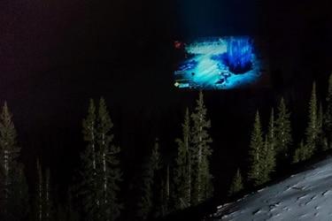 Xbox proyecta Destiny 2 en una montaña y rompe récord Guinness